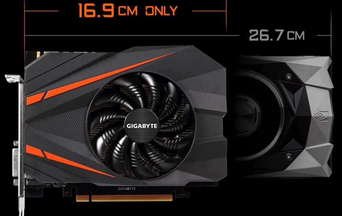 کارت گرافیک GTX 1080 Mini ITX 8G
