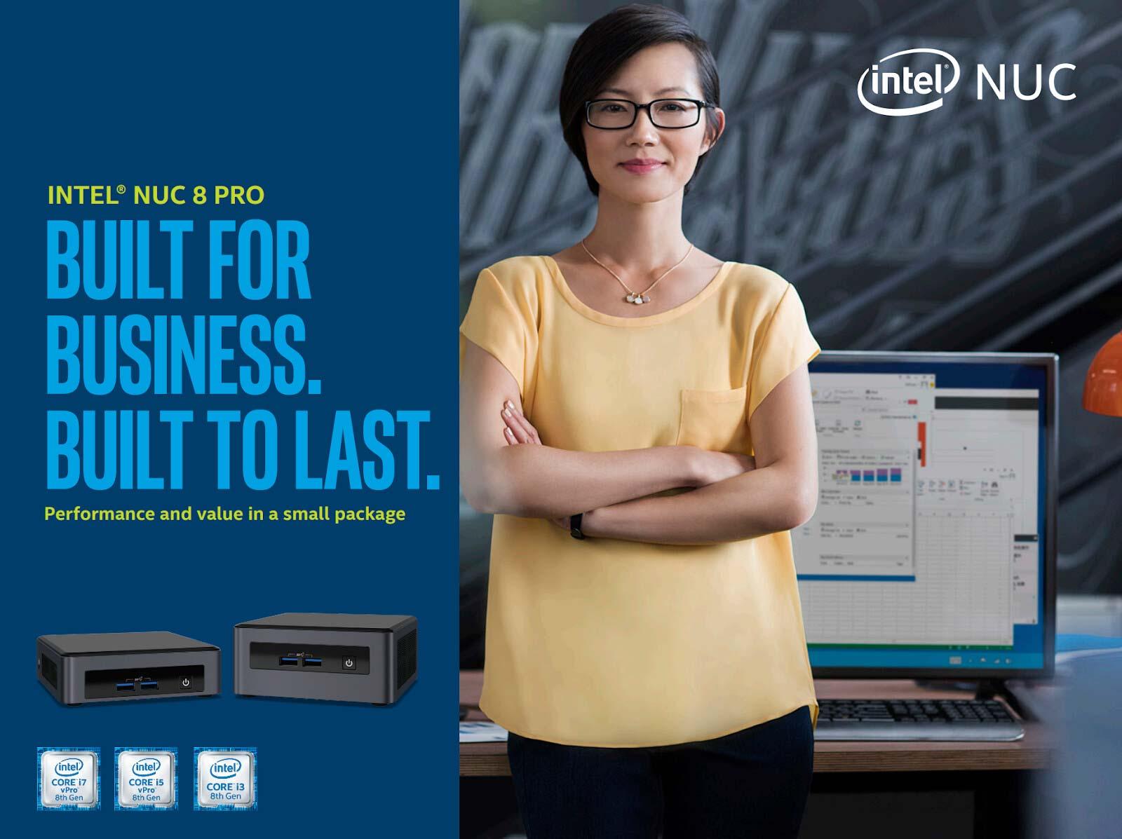 شرکت اینتل، NUC 8 Pro را برای کسب و کارها عرضه کرد