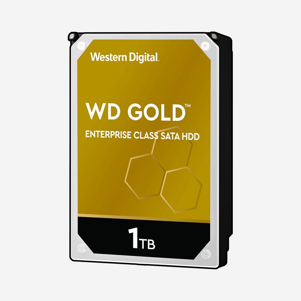 هارد دیسک اینترنال سری Gold وسترن دیجیتال