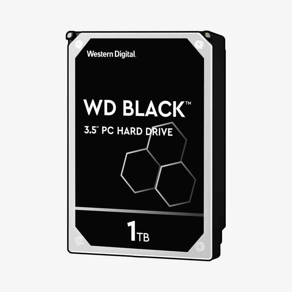 هارد دیسک اینترنال سری Black وسترن دیجیتال