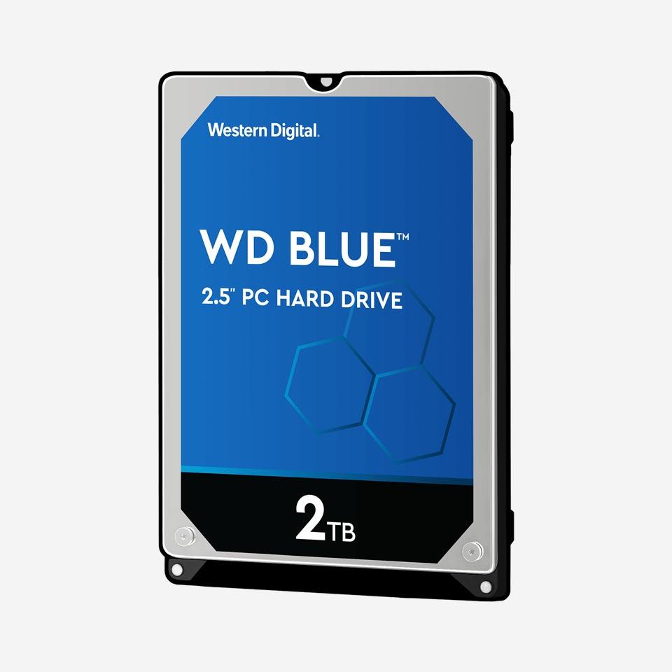 هارد دیسک اینترنال لپتاپ سری Blue وسترن دیجیتال