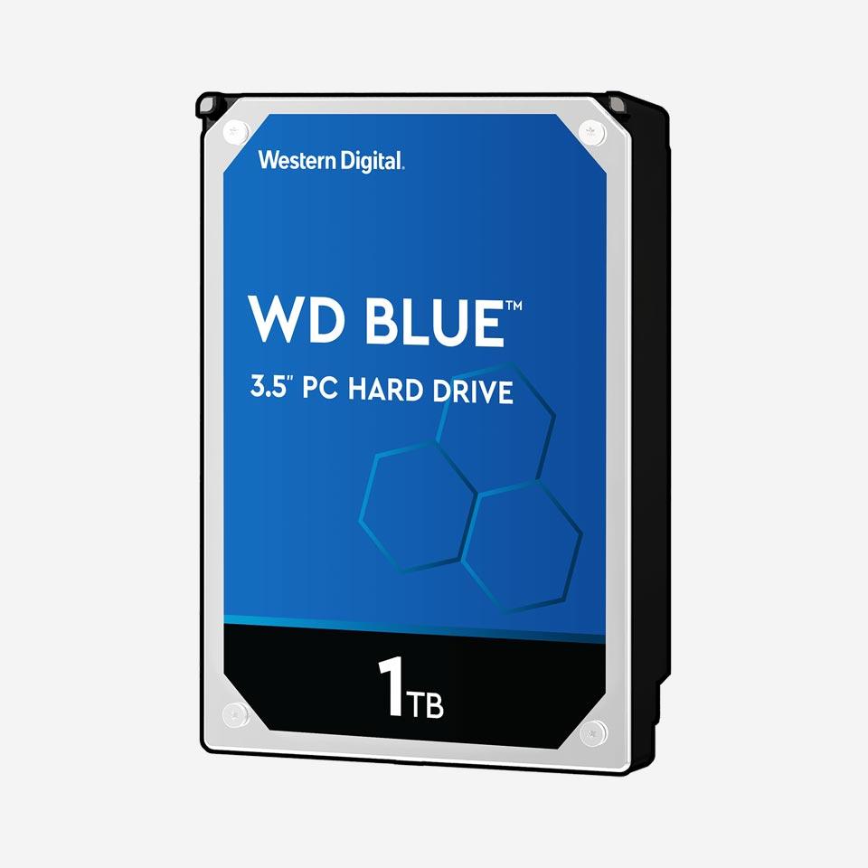 هارد دیسک اینترنال سری Blue وسترن دیجیتال
