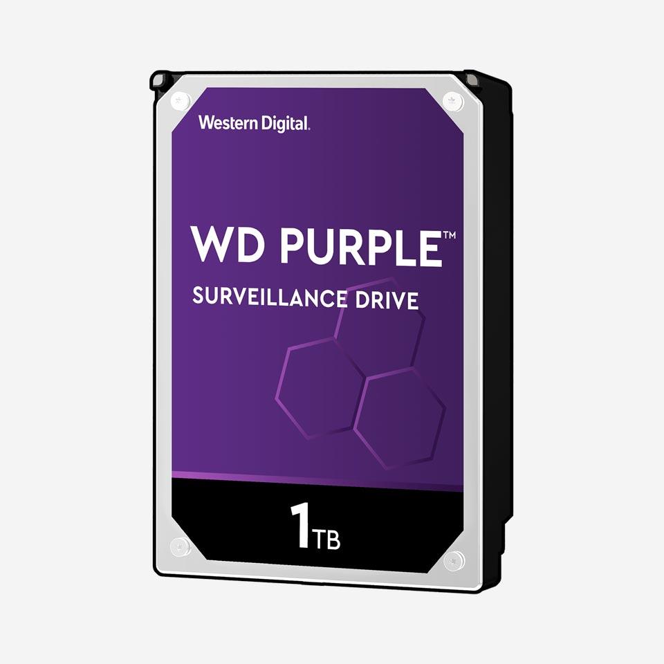هارد دیسک اینترنال سری Purple وسترن دیجیتال
