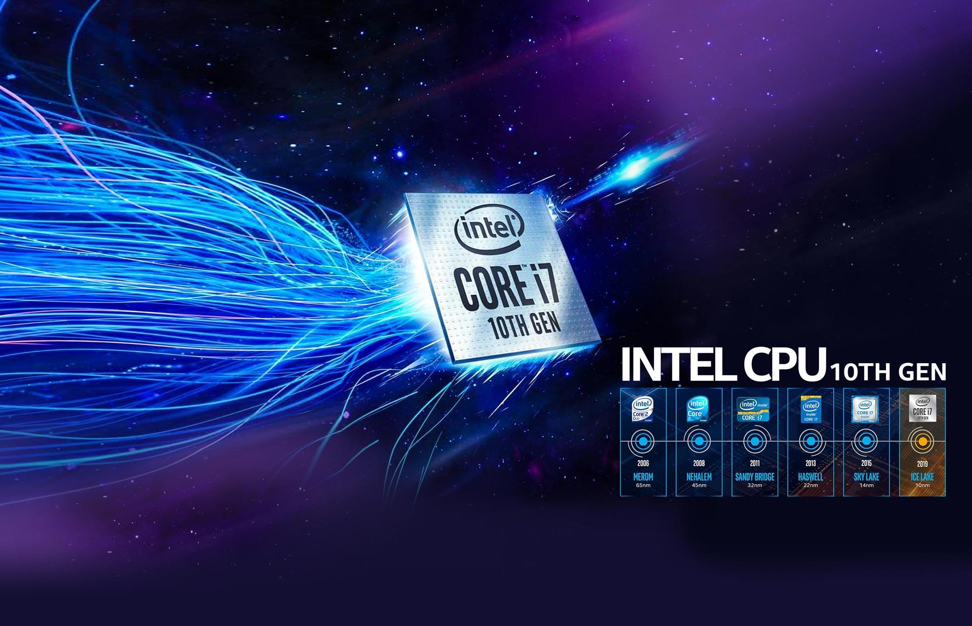 نسل دهم پردازندههای اینتل