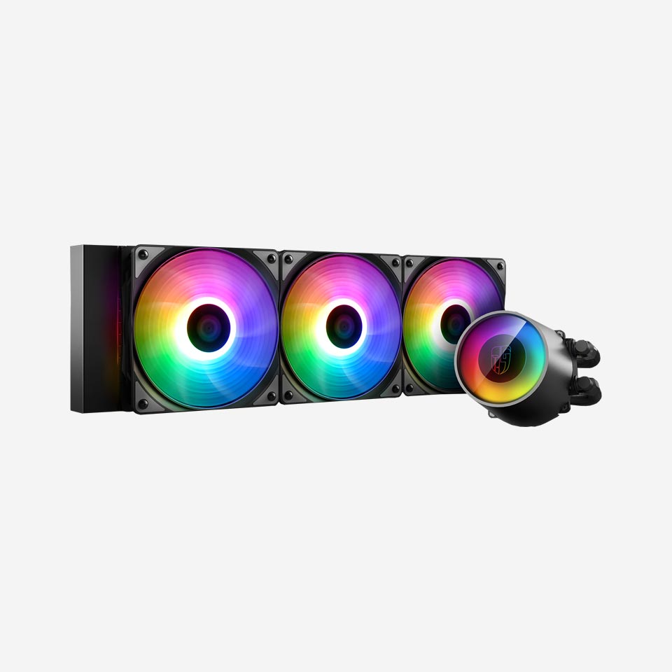 خنک کننده مایع پردازنده ایسوس CASTLE 360 RGB V2