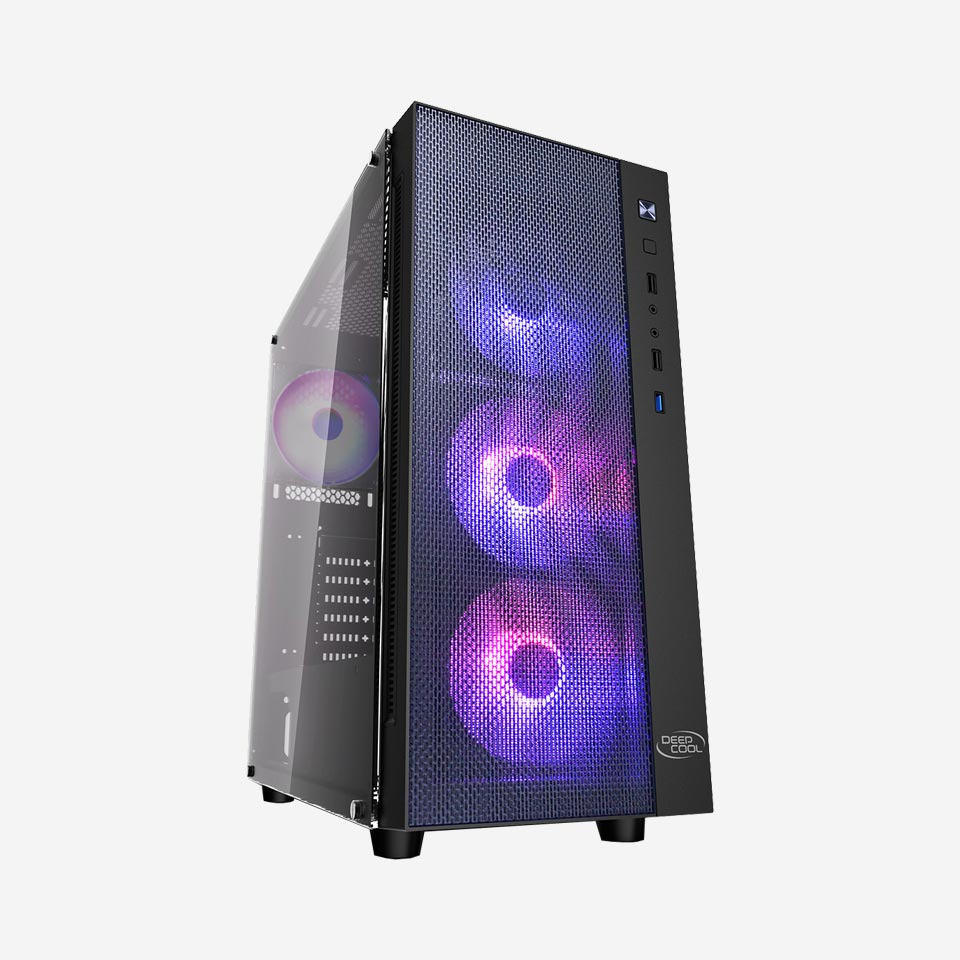 کیس کامپیوتر دیپکول MATREXX 55 MESH ADD-RGB 4F