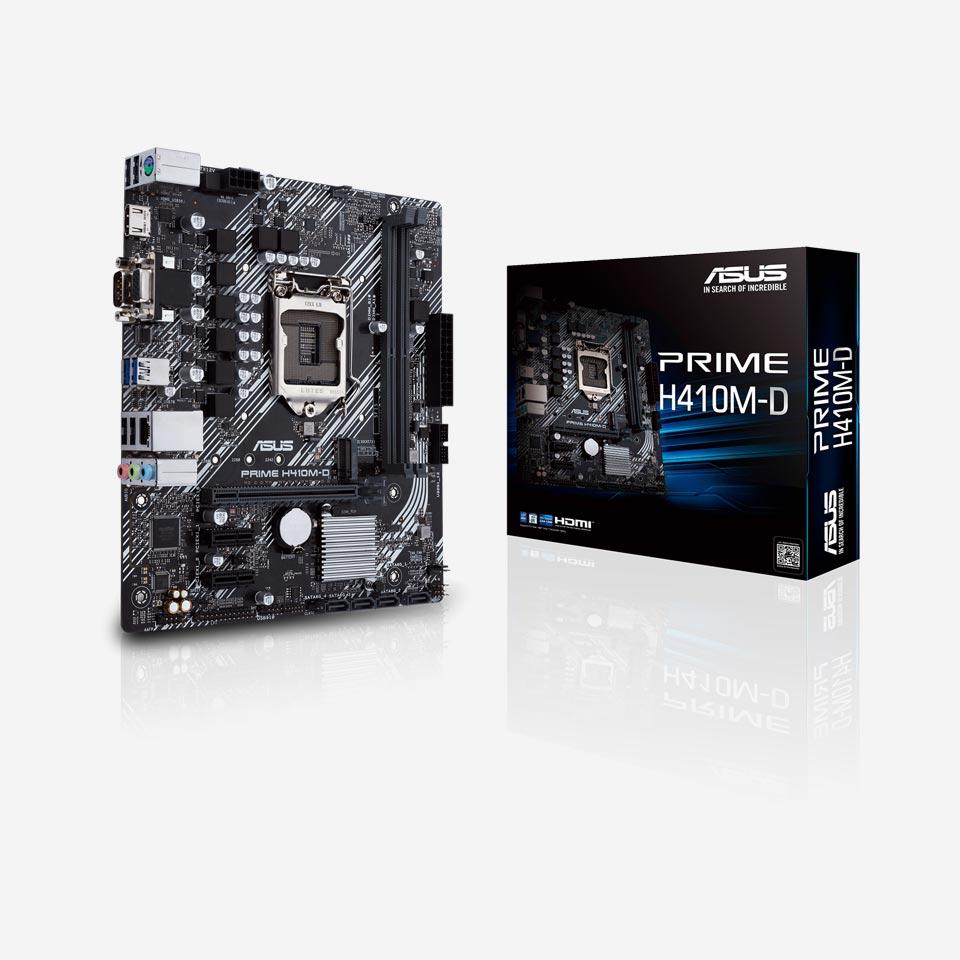 مادربردهای ایسوس سری Prime H410