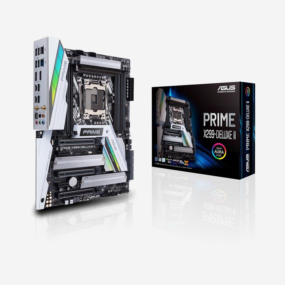 مادربردهای ایسوس سری Prime X299