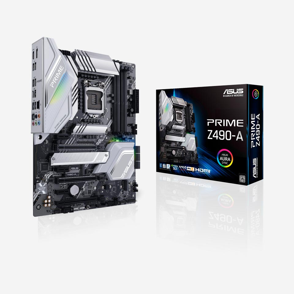 مادربردهای ایسوس سری Prime Z490