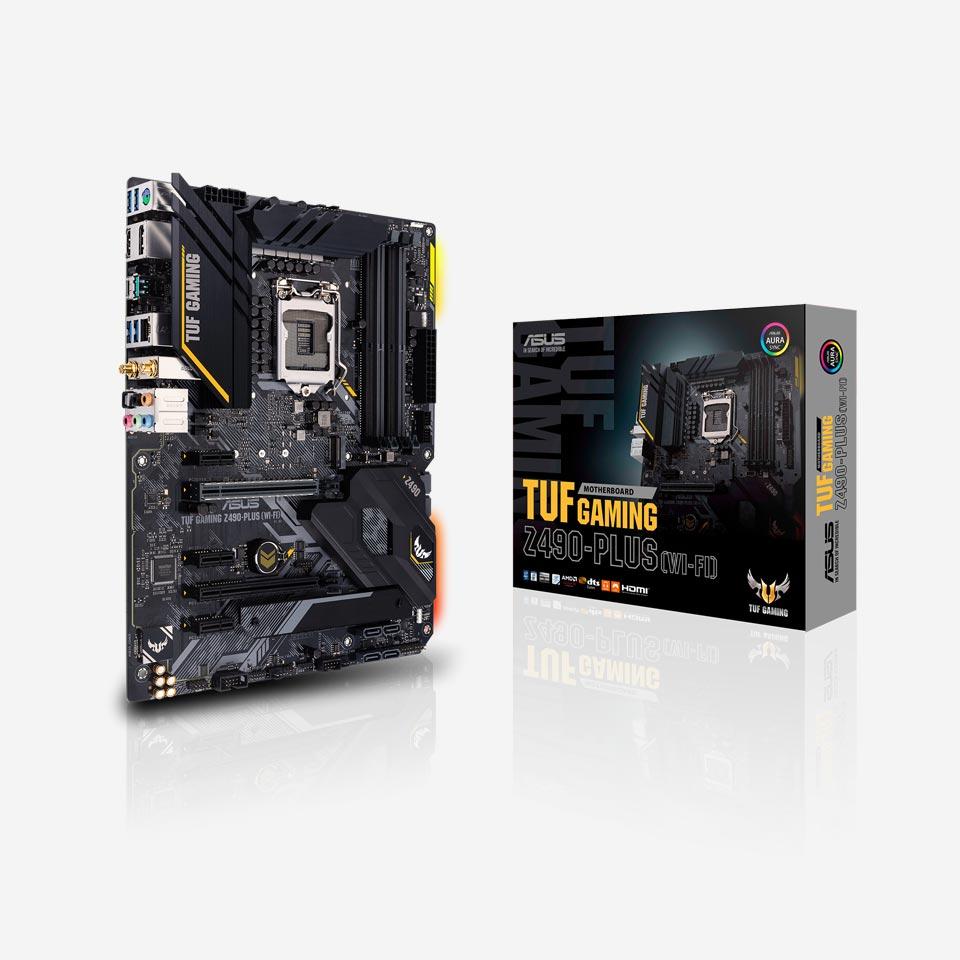 مادربردهای ایسوس سری TUF Gaming Z490