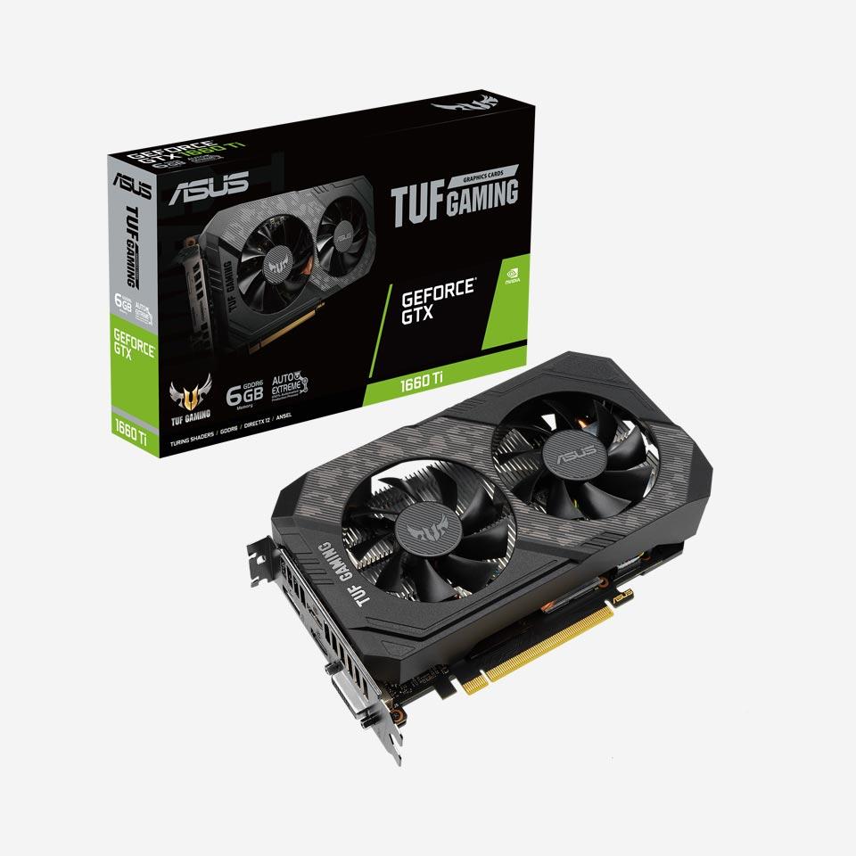 کارت گرافیک ایسوس TUF Gaming GeForce GTX 1660 Ti EVO
